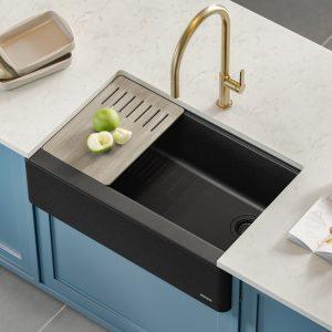 Black Granite Kitchen Sinks